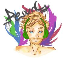 Pewdiepie by Caramel-Fudge-Cakes
