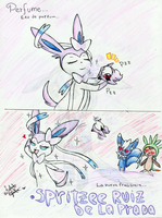 Spritzee, The Perfume Pokemon by LaahGata