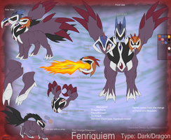 Fakemon Request: Fenriquiem by Lifefantasyx