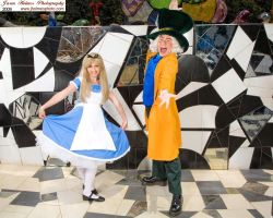 Alice and Hatter by TheRealLittleMermaid