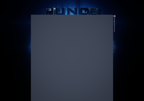 Youtube Layout - Thunder by 1337thriller