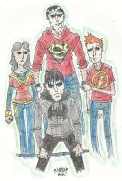 Justice League In High School by NicolasRinear