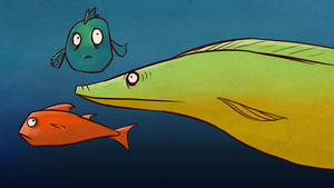 the last three fishes by Yetska