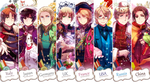 Hetalia Beautiful World Jackets by ROSEL-D