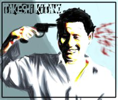 Takeshi Kitano by o0Straw-Berry0o