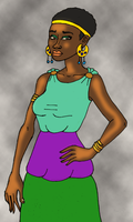 African Aphrodite by DaBrandonSphere