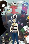 Gorillaz: The World of Plastic Beach by Imotto-chan