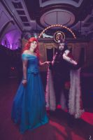 Cosplay Ball Spain - Ariel and King Sombra by Evilarticfox