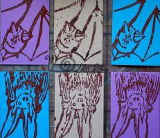 Bat ATCs by lonesomeaesthetic
