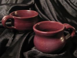 Raspberry Mug Set by Christine-Eige