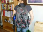 School Backpack filled and ready to use by brainyloo
