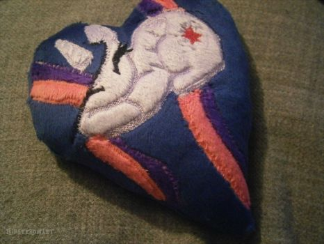 Handmade Twilight Sparkle Pillow by HipsterOwlet
