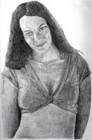 Portrait of a Pagan Beauty by lord666belial