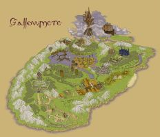 Gallowmere map by MithriLady