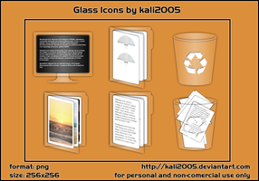 Glass Icons by pimpmydesk