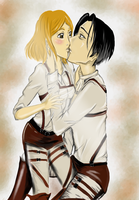 Levi and Petra by McFearless1810