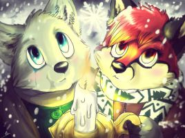 Let it snow by wolfinrahalify