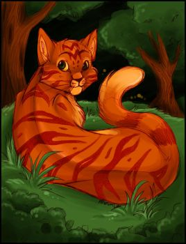 Fireheart-Colored by khunumi
