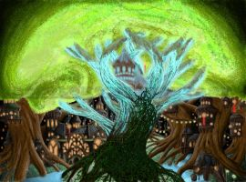 Forest Tree of life Core by bozoloko