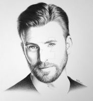 Chris Evans by FromPencil2Paper
