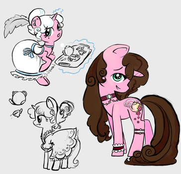 Adoptable pony: Floral SOLD by JBRID