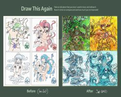 Draw this Again: Elements by kuro0