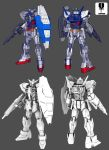 Gundam AGE-1 Normal by zipbox
