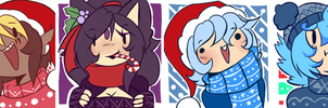 Christmas Icons -Not free to use- by ConnieCHI