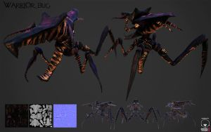 Warrior Bug starship troopers by pasco295