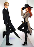 Commission: Angelo and Karcy by manu-chann