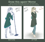 Draw This Again Meme! (7 Months of Study) by Stosyl