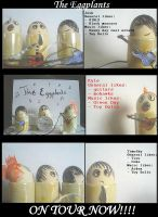 The Eggplants by 1000Faces