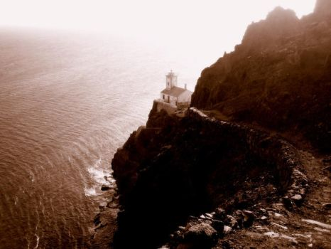 Cabo Verde II - Lighthouse by Herztrost