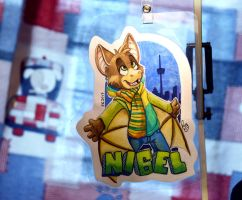 Furnal Equinox badge: Nigel by pandapaco
