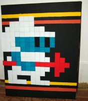 Dig Dug by graphicpoetry