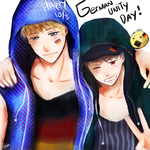 APH -- German Unity Day ! by aphin123
