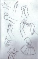 how to draw anime hands by NekoBrenda