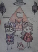 gravity falls by holi-kawaii