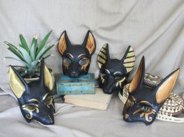 Anubis Style Masks by nondecaf