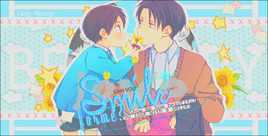 Smile for me (EreRi) by MochiUsUk