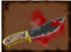 Hunting knife by PdictusMagister