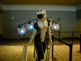 Otakon 2012- Portal by CraziestBlitzwing
