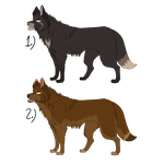 Wolf Adoptables Fall 2015 (CLOSED) by MorningAfterWolf