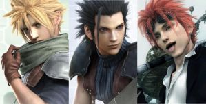 Final Fantasy VII Hotties by Roxas--Lover