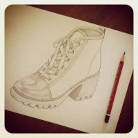 Shoe by AnasAlyona