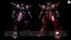 Gundam Holy War -Gog and Magog by ssejllenrad2