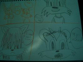 My sketch drawing by Rizzy-The-Awesome