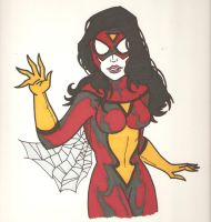Spider Woman by Elvatron