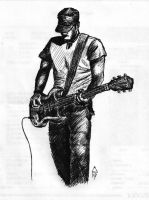 Guitarist - sketch by DevCageR