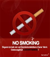 no smoking by Servetinci